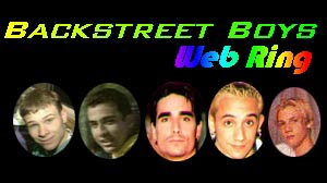 Backstreet Boys Web Ring
