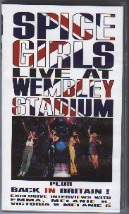 SPICE GIRLS IN WEMBLEY